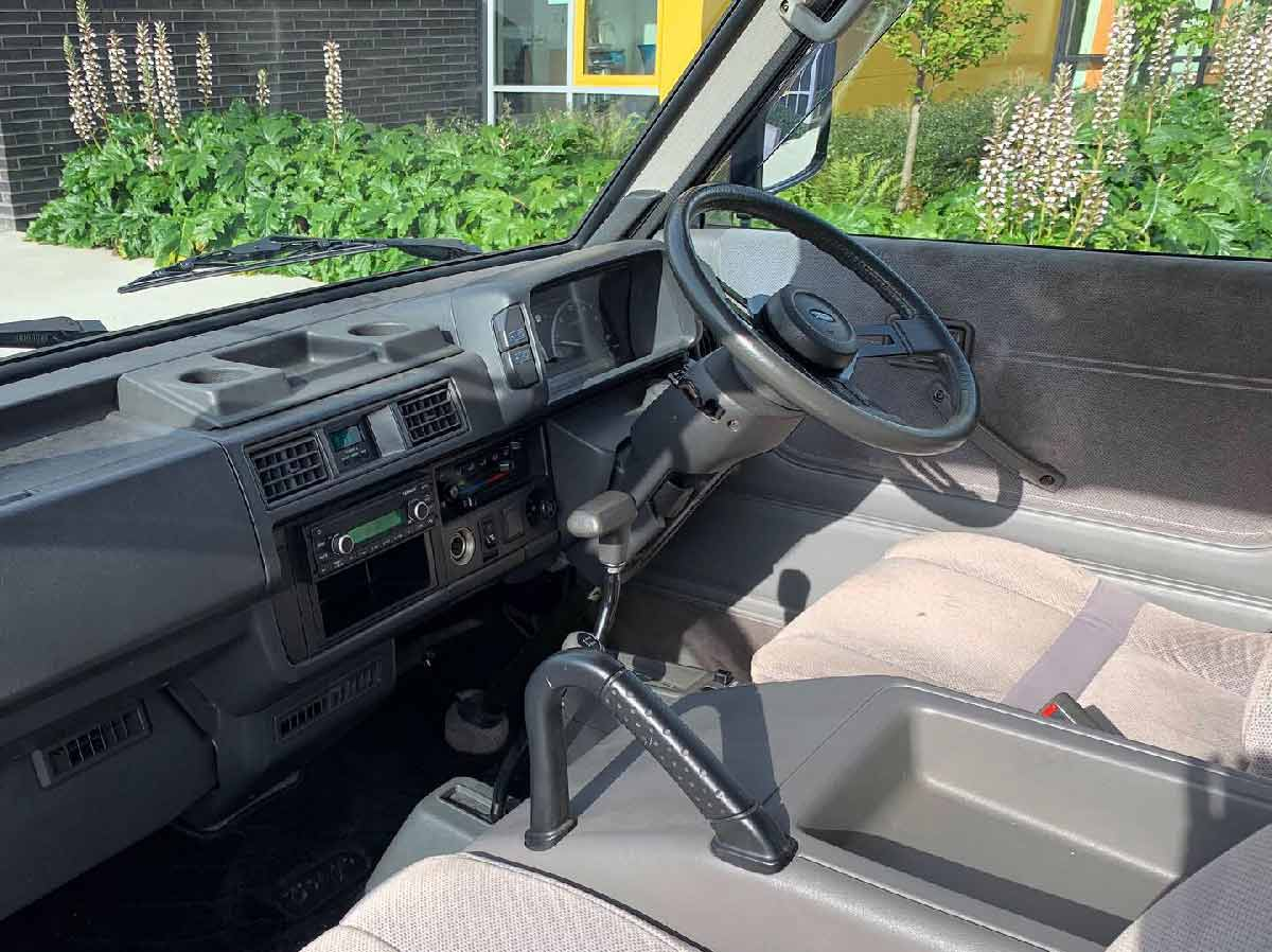 Ford Spectron Interior