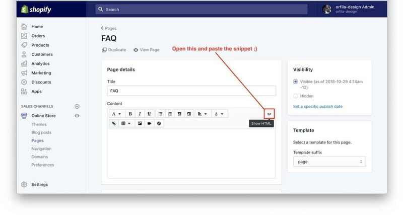 Creating An Accordion for Shopify Pages   Sean Orfila